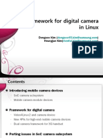 Framework for Digital Camera in Linux-In Detail