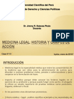 Clase 01 ML-I Historia de la Medicina Legal