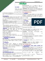 Cours Arithmetique