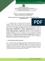 Edital Nº 170 - PROEX - Processo de Seleção Para Orientador, Supervisor e Apoio Administrativo - PRONATEC-IfRO (1)