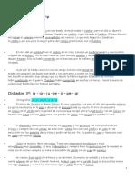 Dictados 3ºprimaria Reglas Ortográficas