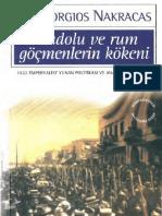 Georgios Nakracas - Anadolu Ve Rum Gocmenlerin Kokeni