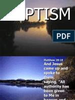 Baptism Rev 5