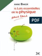 Les Lois Essentielles de La Physique Pour Tous - Librio