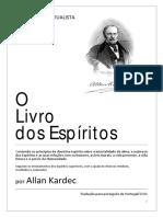 o Livro Dos Espiritos de Allan Kardec 21 Out Por Portugal