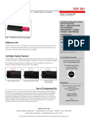 Print.After.Print Compatible Toner Replacement for Dell 310-5731 Cyan 310-5739 Works with: 3000 3100CN 3000CN 3100