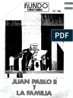 Mundo Cristiano - 351 - Juan Pablo II y La Familia