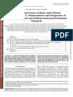 Estructura y Funcion de Los Canales de k y CA