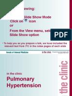 AITC 1305 Pulmonary Hypertension