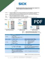 En ISO13855 Remplace EN999_distances de Sécurité