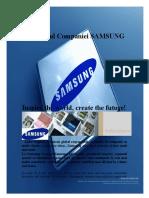 Profilul Companiei Samsung