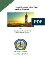 Tugas PAI -Masa Kejayaan Islam Yang Dinantikan Kembali.docx