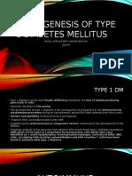 Pathogenesis of Type 1 Diabetes Mellitus