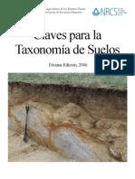 Claves Taxonomia suelos 10ºedic 2006 USDA