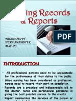Nursingrecordsreports