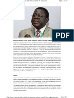 Www.cameroon Info.net Article Cameroun Opinion Le Proble