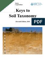 Keys to soil taxonomy 11ºedic 2010 USDA