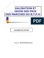 Étude de Prix Lecture Sur l'Actualisation Et La Révision Des Prix Des Marchés