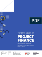 FLF4257 Distance Learning Project Finance