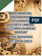 Cover Page Accomplishment