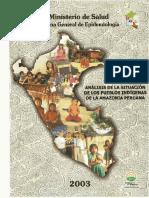 Análisis de La Situación de Los Pueblos Indígenas de La Amazonía Peruana