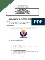 Contoh Perlembagaan PIBG SK Manjoi Satu