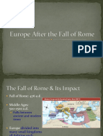 europe after the fall of rome compressed
