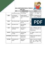 LECTURAS COMPLEMENTARIAS 4° Básico.pdf