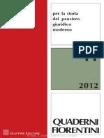 Quaderni Fiorentini Nº 41