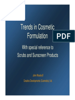 Trends in Cosmetic Formulation