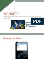 Market 1 week 5-6