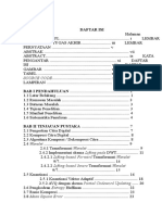 Kompresi Citra Digital Menggunakan Transformasi Wavelet 9 7 Dan Metode Kuantisasi Vektor Adaptif Dengan Algoritma Partial Codeword Updating (Daftar Isi)