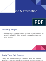 drug abuse and prevention  1