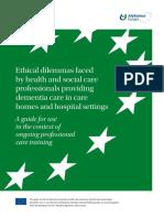 Alzheimer Europe Ethics Report 2015