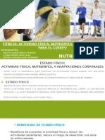 Fitness Actividad Física, Nutrientes y Adaptaciones Para El Cuerpo - Nutrición Humana
