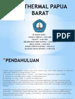 Geothermal Papua Barat 02 Paling Baru