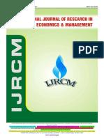 Ijrcm 3 Evol 2 Issue 3 Art 21