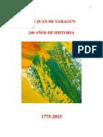 Sobre La Fundación de San Juan de Sahagún