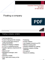 Chapter 15 Floating a Company