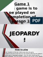 Jeopardy After L10