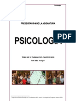 Presentación Psicología