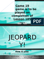 Jeopardy After L185
