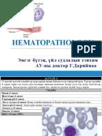 Дариймаа - Гематологи лекц