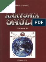 Stefanet Anatomia Omului Vol 3 2010