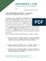 Notificação - Representação Sindical 2017 geral