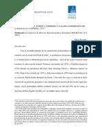 Servetto 2002-El Peronismo en El Poder en Formosa%2c 1973