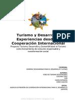 Turismo y Desarrollo Experiencias Desde La Cooperación Internacional