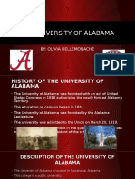 the university of alabama powerpoint