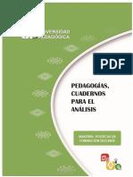 Pedagogías, Cuadernos Para El Análisis M11PDF