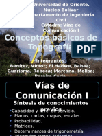 Prerrequisitos de Topografía